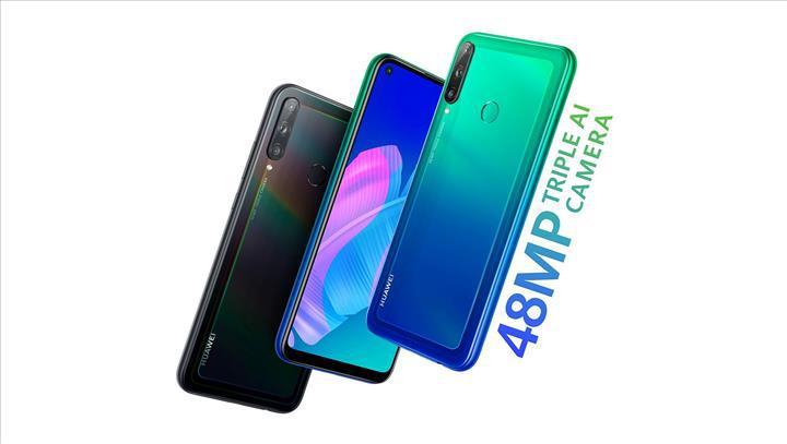 Delik çentikli ekranı ve 48MP kamerası ile Huawei Y7p tanıtıldı