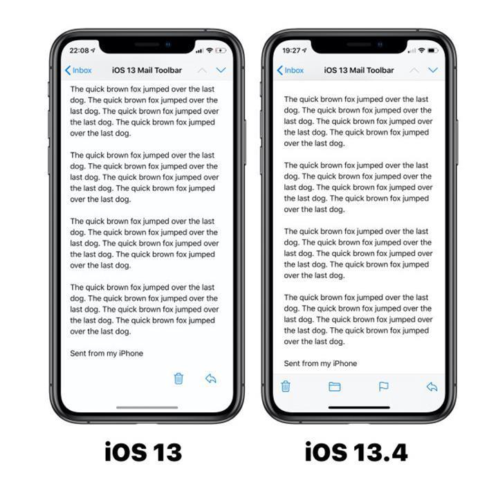 ios 13.4 güncellemesi ile gelecek yenilikler