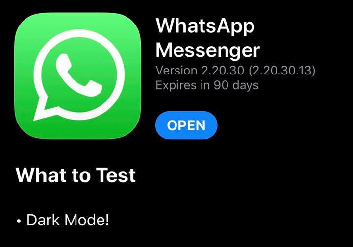WhatsApp'ın Koyu Tema özelliği iOS cihazlara geldi