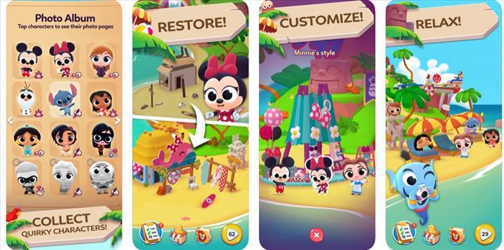 Disney ve Pixar çizgi karakterleri bu oyunda buluşuyor