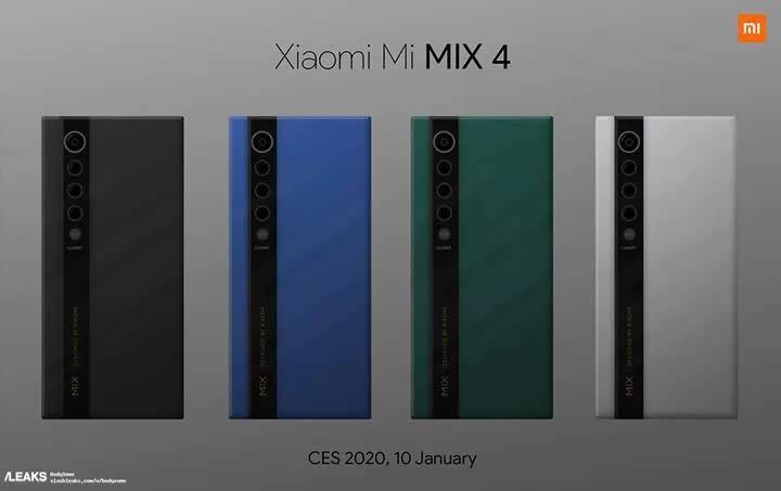 Xiaomi Mi Mix 4'ün kamerası ileri düzey zoom yapabilecek