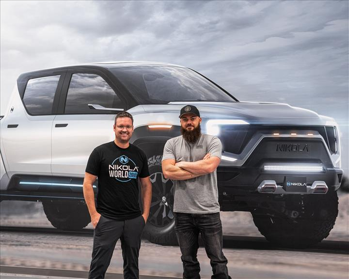 Nikola Motors Badger pickup modelini tanıttı: 960 kilometre menzil ve 906 beygir güç
