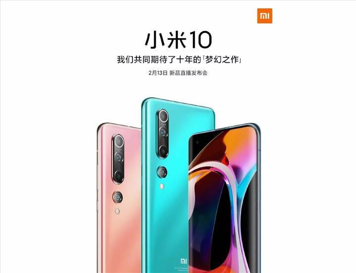 Xiaomi Mi 10 rekor derecede küçük bir ön kamera ile gelecek