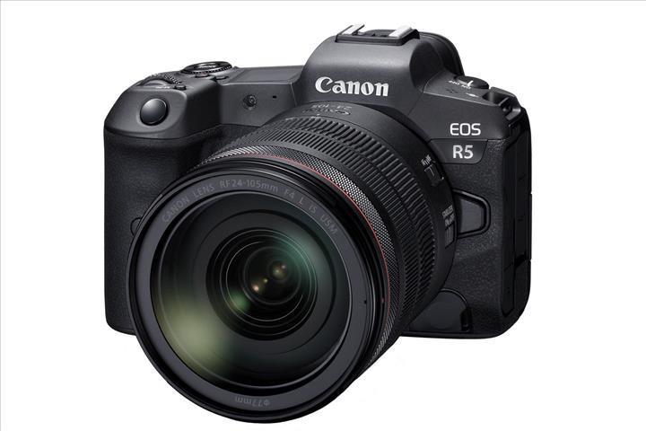 8K video destekli Canon EOS R5 aynasız kamera modeli duyuruldu