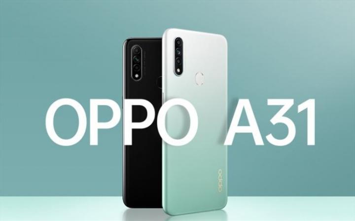 Oppo A31 tanıtıldı: 6.5 inç ekran, üç arka kamera, 4.230 mAh pil