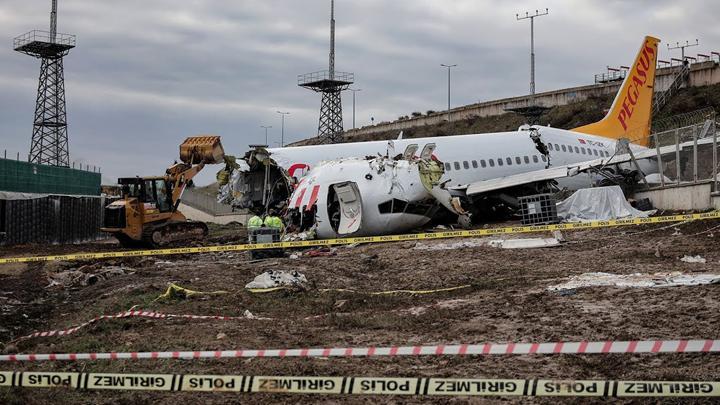 Kaza yapan uçağın yardımcı pilotu: