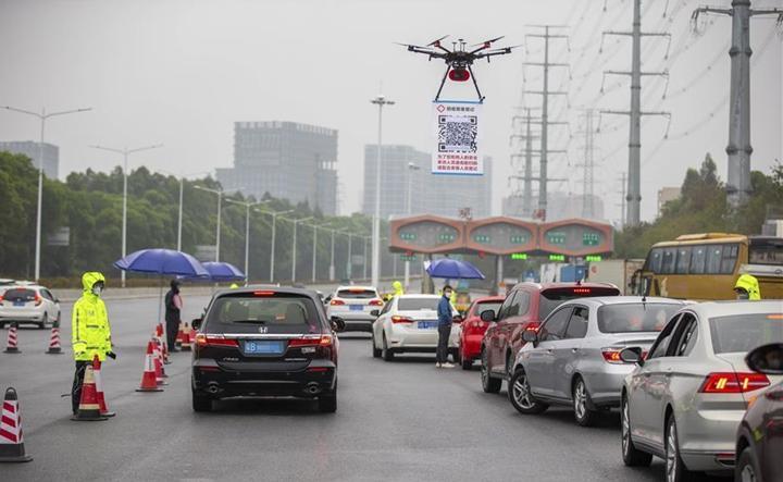 Çin, Koronavirüs salgını ile mücadele için drone kullanmaya başladı