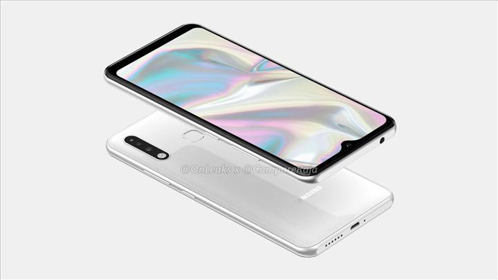 Samsung Galaxy A70e modelinin render görüntüleri sızdı