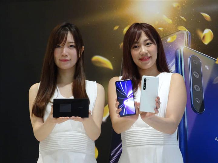 Sharp AQUOS R5G tanıtıldı: Snapdragon 865, 120Hz ekran, LPDDR5 RAM, 5G