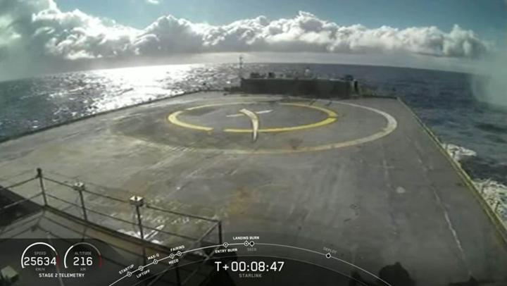 SpaceX durmak bilmiyor: Starlink uydu sayısı 300'e çıktı