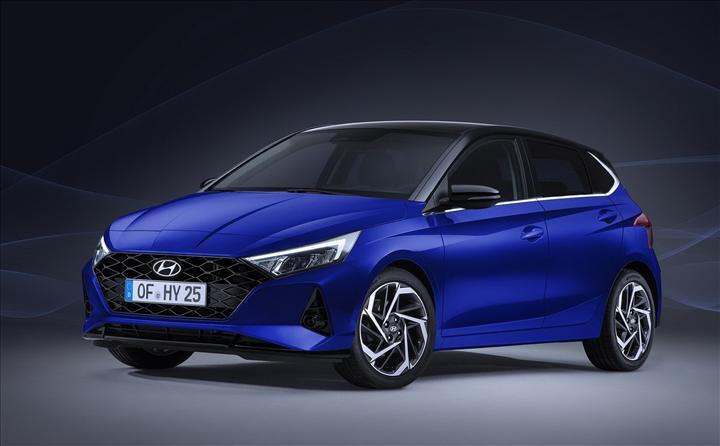 Yeni Hyundai i20'nin tasarımı ortaya çıktı!