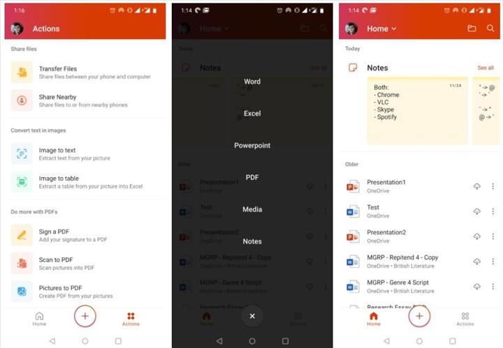 Birleşik Microsoft Office uygulaması Android için indirmeye sunuldu