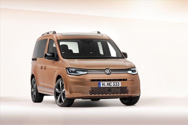 Yeni Volkswagen Caddy'nin tasarımı ortaya çıktı