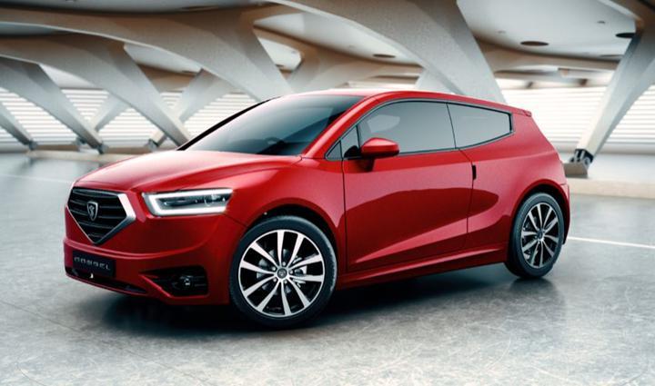 KKTC'nin yerli otomobili Günsel B9 tanıtıldı: İşte tasarımı ve özellikleri