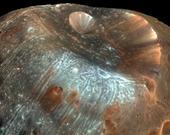 Phobos'un ünlü krateri.