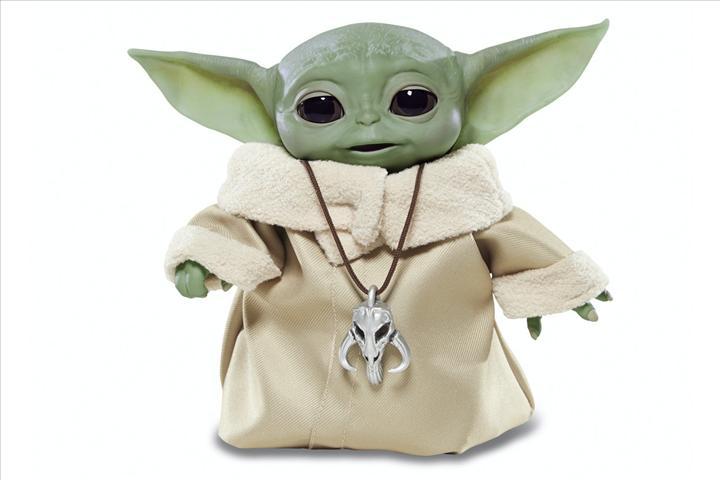 Baby Yoda oyuncağı güçlerini kullanmaya geliyor