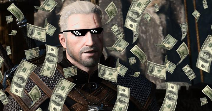 The Witcher 3'ün yapımcısına kazandırdığı para, şaşırtmaya devam ediyor