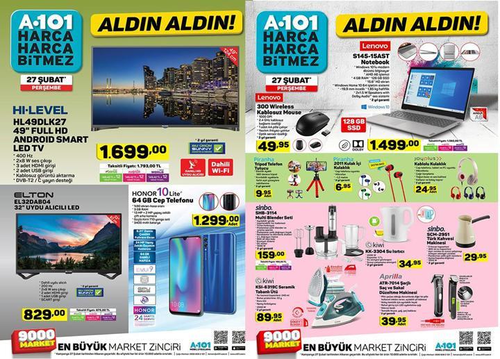 Haftaya A101 marketlerde uygun fiyata Honor 10 Lite, BİM marketlerde Meizu M6T modelleri var