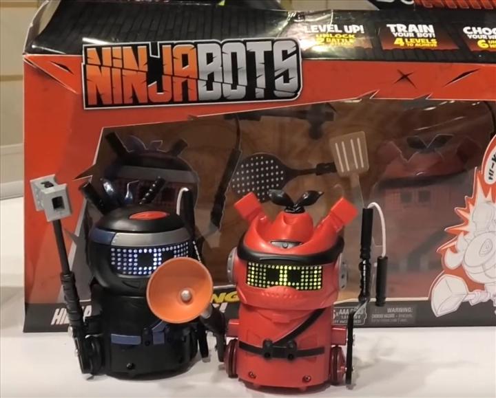 NinjaBots evinize ninja dövüşlerini getiriyor