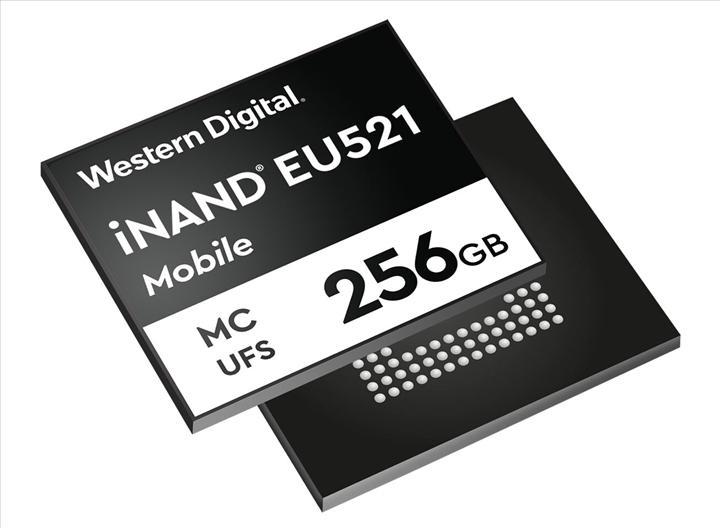 5G cihazları için Western Digital UFS 3.1 belleklerini duyurdu