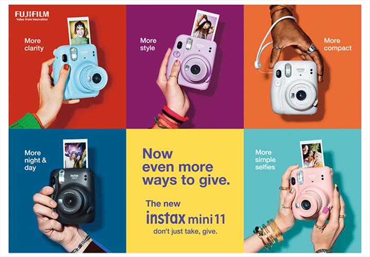 Fujifilm şipşak fotoğraf makinesi Instax Mini 11'i duyurdu