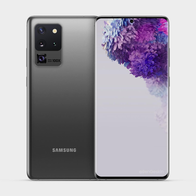 Samsung Galaxy S20 Ultra, ilk yazılım güncellemesini aldı