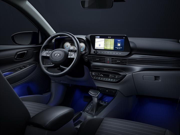 Yeni Hyundai i20'nin iç mekanından ilk görüntü geldi