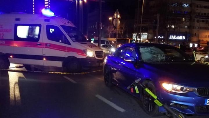 Elektrikli scooter kiralama servisi Martı, kazaya karıştı