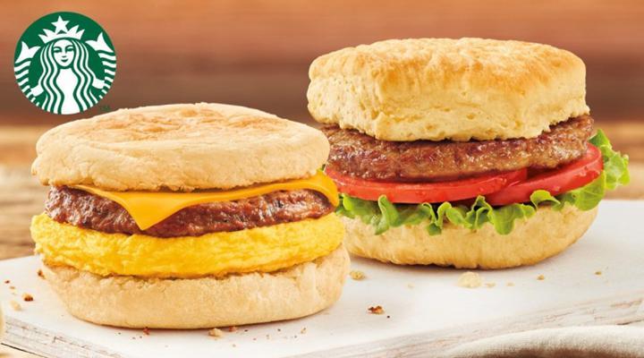Starbucks, Kanada'da bitkisel etli sandviç satışına başlıyor