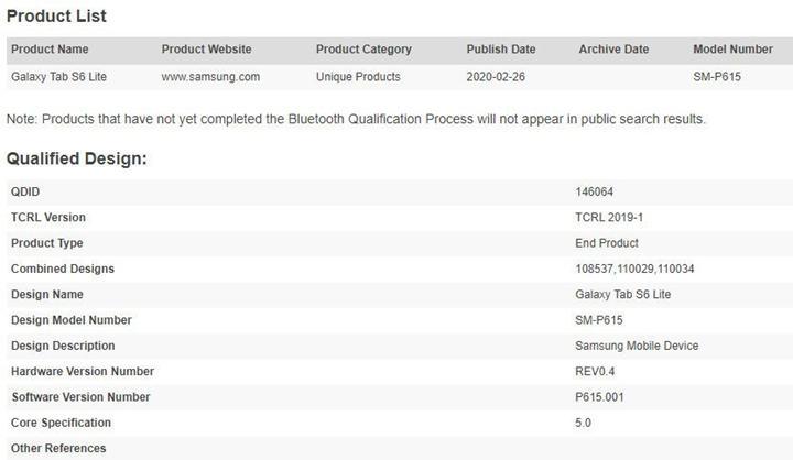 Galaxy Tab S6'nın uygun fiyatlı versiyonu geliyor