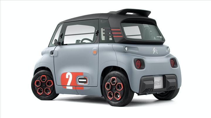 Citroen, aylık 20 euro'ya kiralanabilecek elektrikli aracı Ami'yi tanıttı