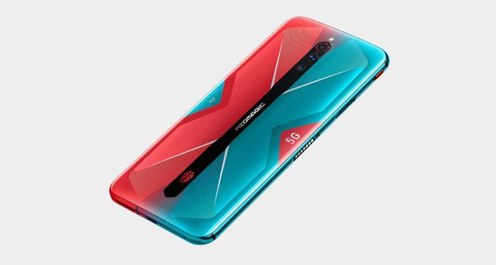 Sıra dışı tasarıma sahip Nubia Red Magic 5G'in ilk canlı fotoğrafı yayınlandı