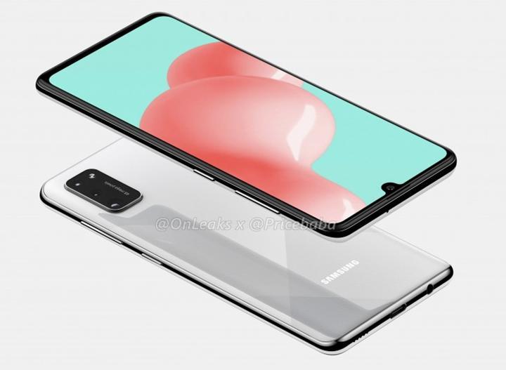 Samsung Galaxy A41 tasarımı ortaya çıktı