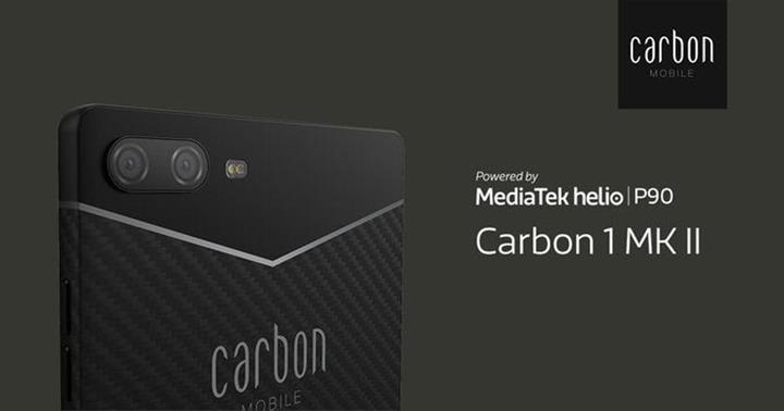 Dünyanın ilk karbon fiber telefonu Carbon 1 Mark II tanıtıldı