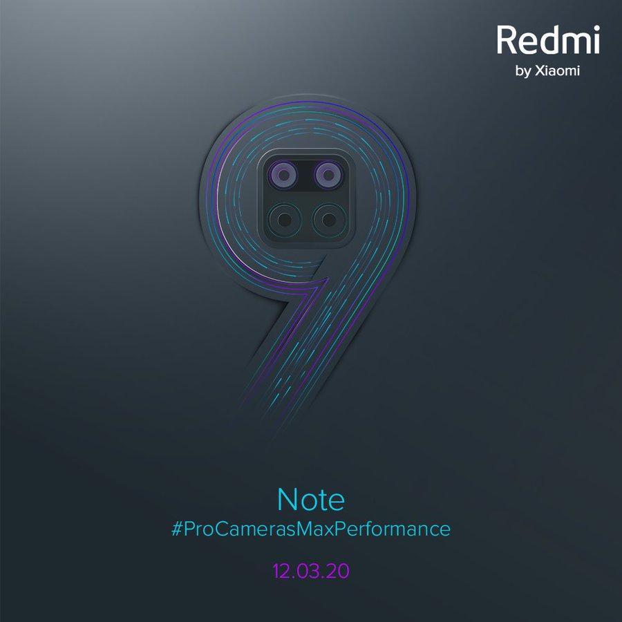 Redmi Note 9'un tanıtım tarihi resmen açıklandı