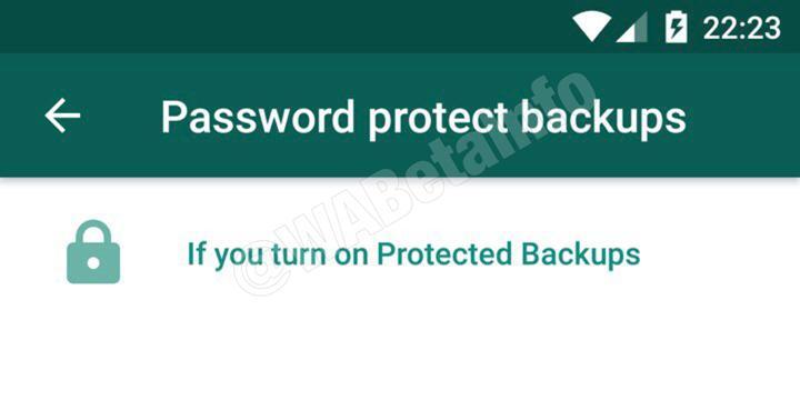WhatsApp, Google Drive'a yedeklenen sohbetleri şifrelemeye izin verecek