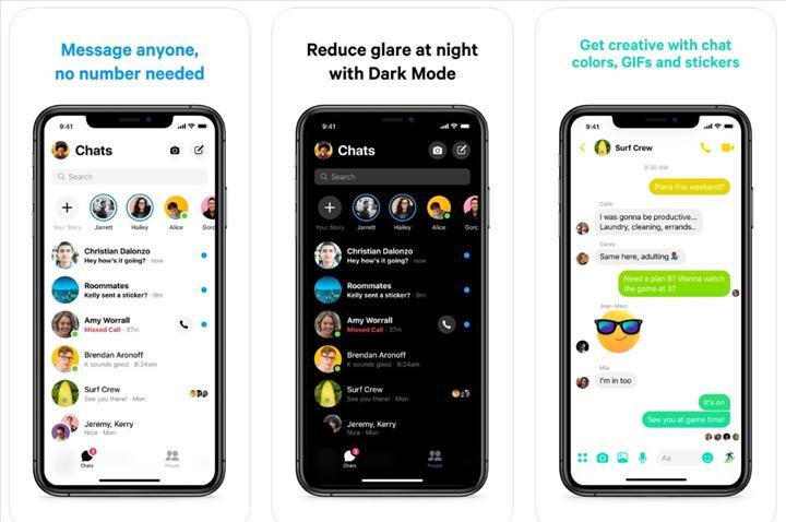 Facebook Messenger iOS uygulaması baştan yazıldı, hız kazandı