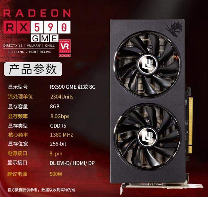 Asya pazarına özel RX 590 GME gün yüzüne çıktı