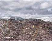 """Seyahat kategorisi. """"Larung Gar Budist Akademisi."""" Dünya'nın en büyük Tibet Budist Enstitüsü."""