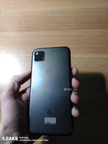 Google Pixel 4a modelinin canlı fotoğrafı sızdı