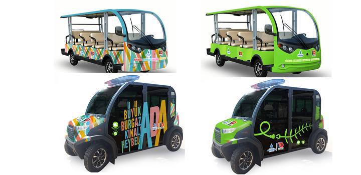 İBB, Adalar'da kullanılmak üzere 60 elektrikli araç satın aldı
