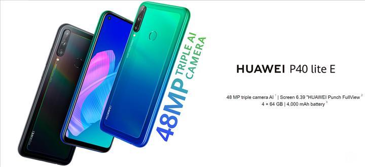 Huawei P40 Lite E tanıtıldı: İşte özellikleri ve fiyatı