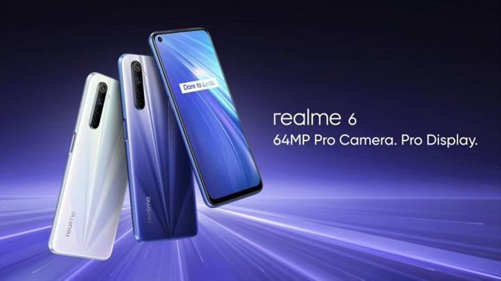 Realme 6 serisi tanıtıldı: İlk kez Snapdragon 720G yonga seti ve uygun fiyat