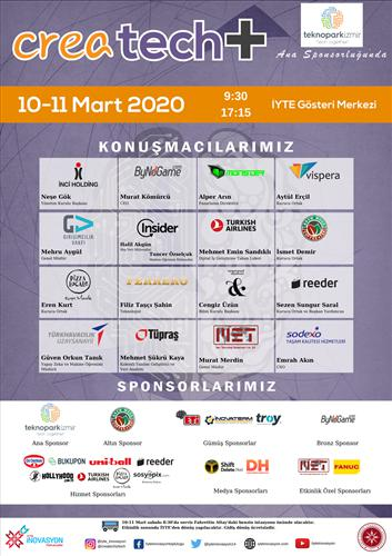 Öğrencilerle firmaları buluşturan CreaTech+ etkinliği, 10-11 Mart'ta İzmir'de düzenleniyor