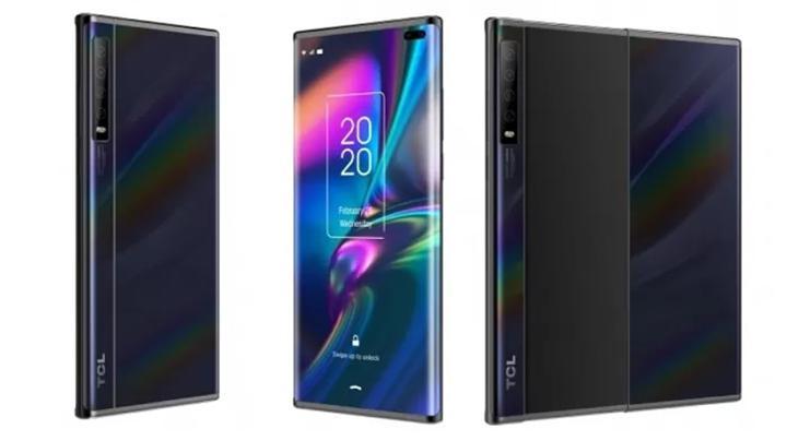 TCL, iki yeni katlanabilir akıllı telefon konseptini sergiledi