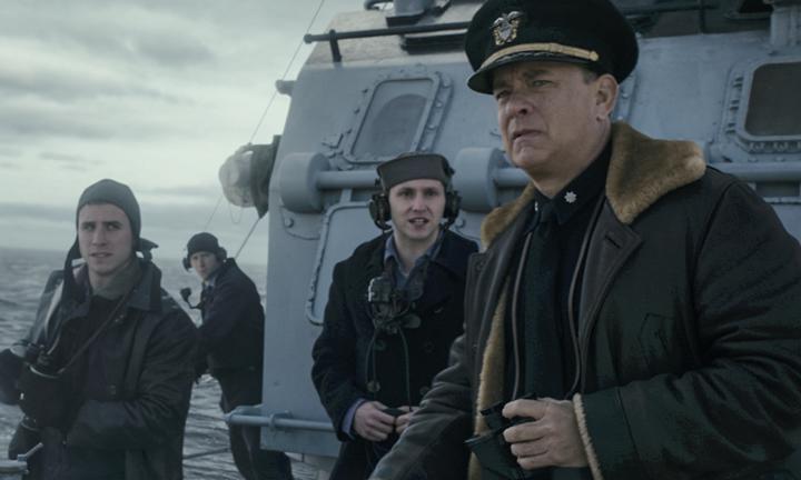 Tom Hanks'li yeni savaş filmi Greyhound'tan etkileyici fragman