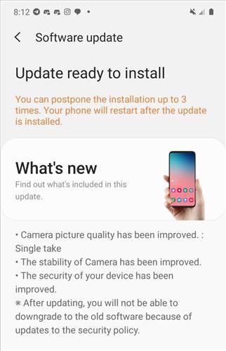 Samsung Galaxy Z Flip için yazılım güncellemesi yayınlandı