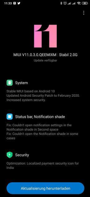 Xiaomi Mi Mix 3 kararlı Android 10 güncellemesine kavuştu