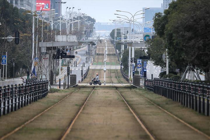 Fotoğraflarla hayalet şehir Wuhan