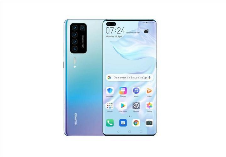 Huawei P40'ın beş renk seçeneğini gösteren poster yayınlandı